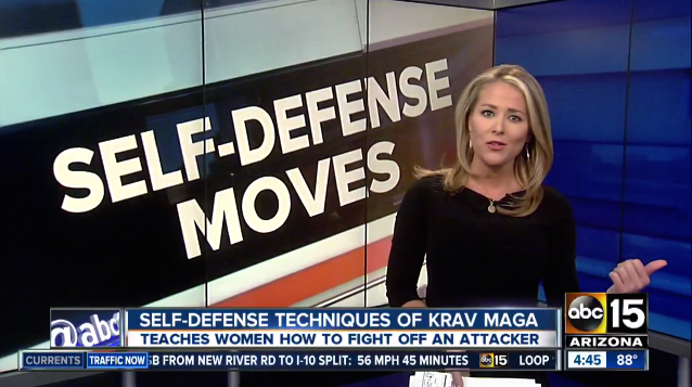 East Valley Krav Maga Teaches Women Self-Defense